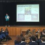 Image for the Tweet beginning: Anti-bullying week is underway. Assemblies,