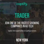 Captify is hiring! Explore this exciting new opportunity in New York: https://t.co/LVc7C5DgpW #captifycareers #captify #adtech #media #adtechcareers