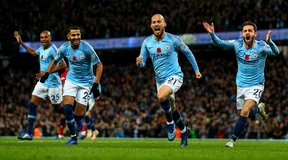 a7f4ab968 A game-sealing goal after a 44-pass sequence reaffirmed Man City's  superiority over Man United in another derby triumph for Pep Guardiola's  impressive side ...