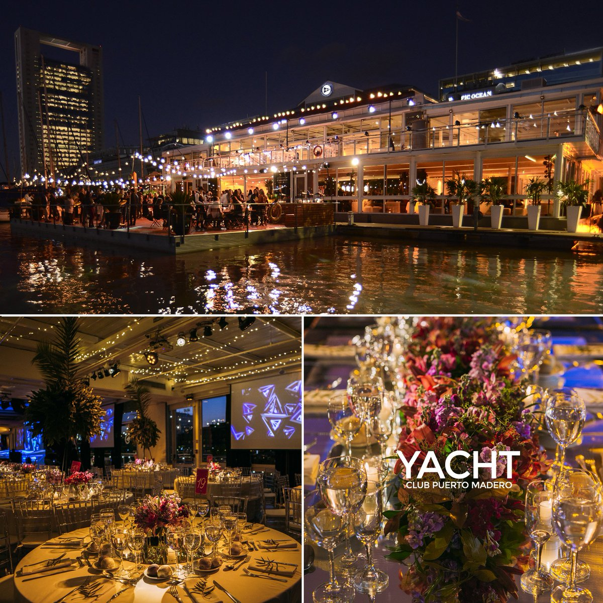 Yacht در توییتر Eventos En El Yacht Club Puerto Madero