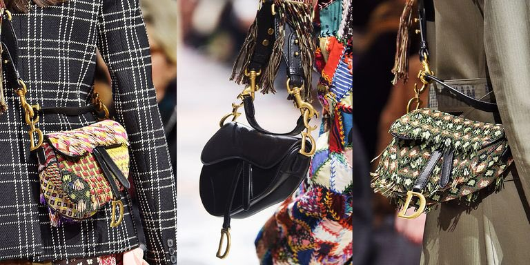 d9d7cf25793c The iconic Dior saddle bag was first introduced by John Galliano in  99 the  2000s it bag is making a comeback.
