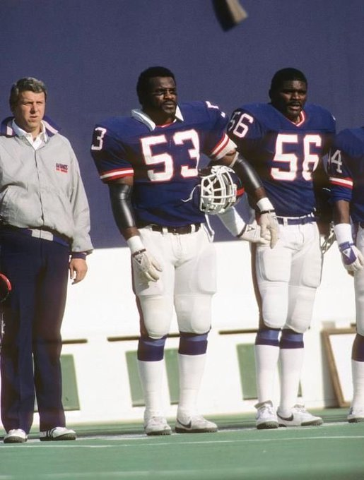 Bill Parcels, Harry Carson, and Lawrence Taylor Happy Birthday Carson!