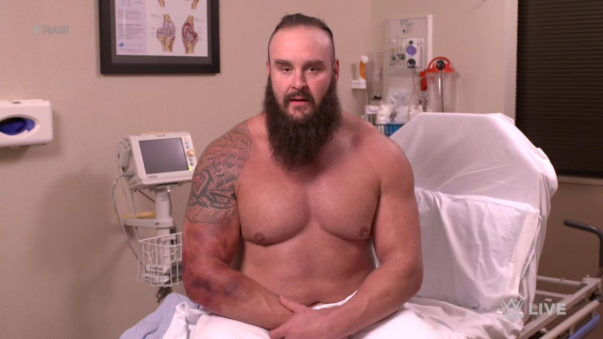 Braun Strowman Shows Bruise And Sends Warning, TLC Storyline Update