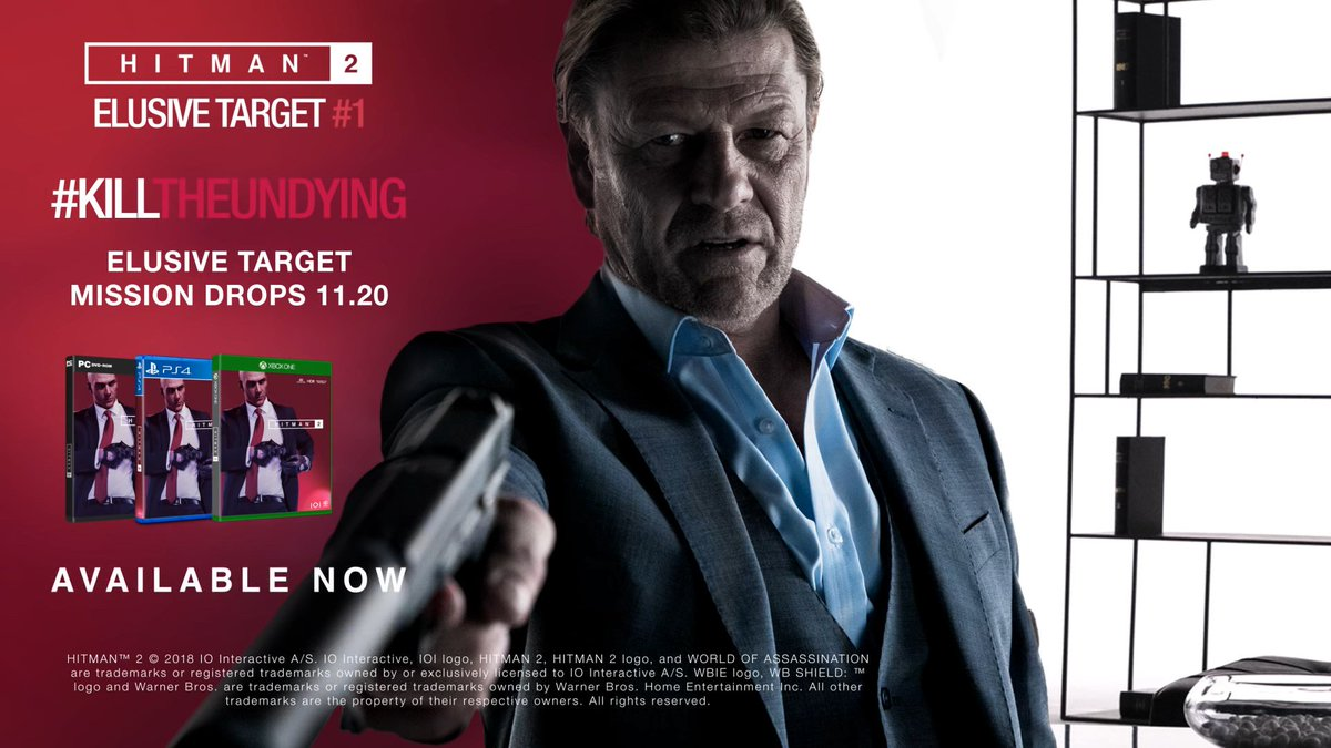 Wario64 On Twitter Hitman 2 Ps4 Xbo Is 29 99 At Amazon Temp Out Of Stock But Can Be Ordered Https T Co Ll0mwqi9p7 Reminder You Have Until Dec 4th To Eliminate Sean Bean Https T Co Y1pwyyumqn