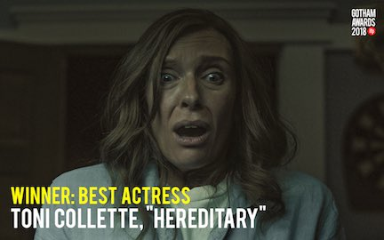 Congratulations to the winner of Best Actress! #GothamAwards