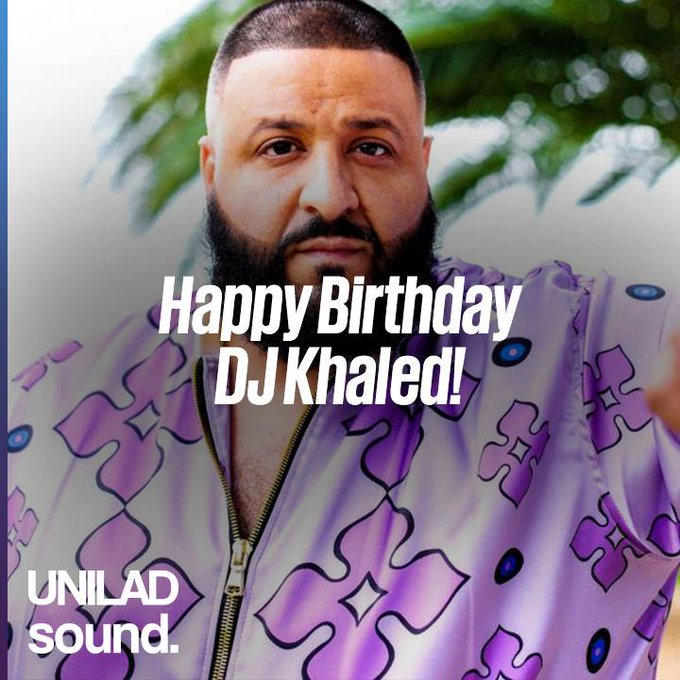 Happy Birthday DJ Khaled! MAJOR KEY ALE