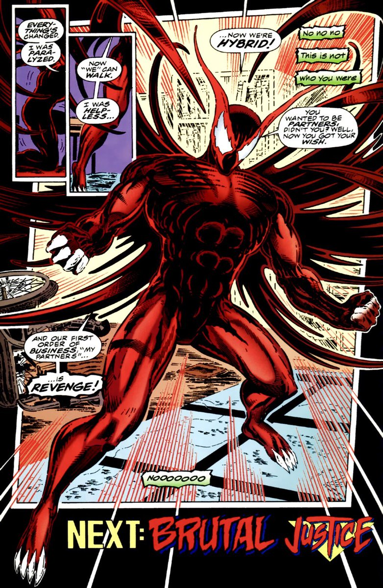 Scott Washington Used Hybrid For A While As Hero But Was Later Killed By Ed Brock Can Still Come Back Considering The Symbiote Needed