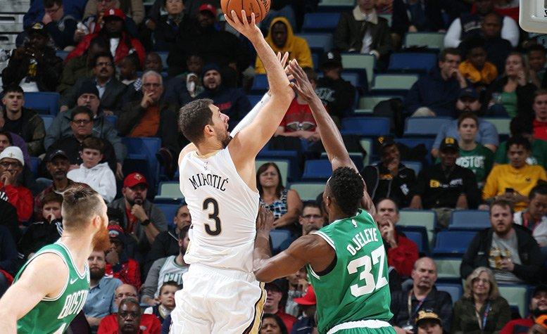 Celtics at Pelicans