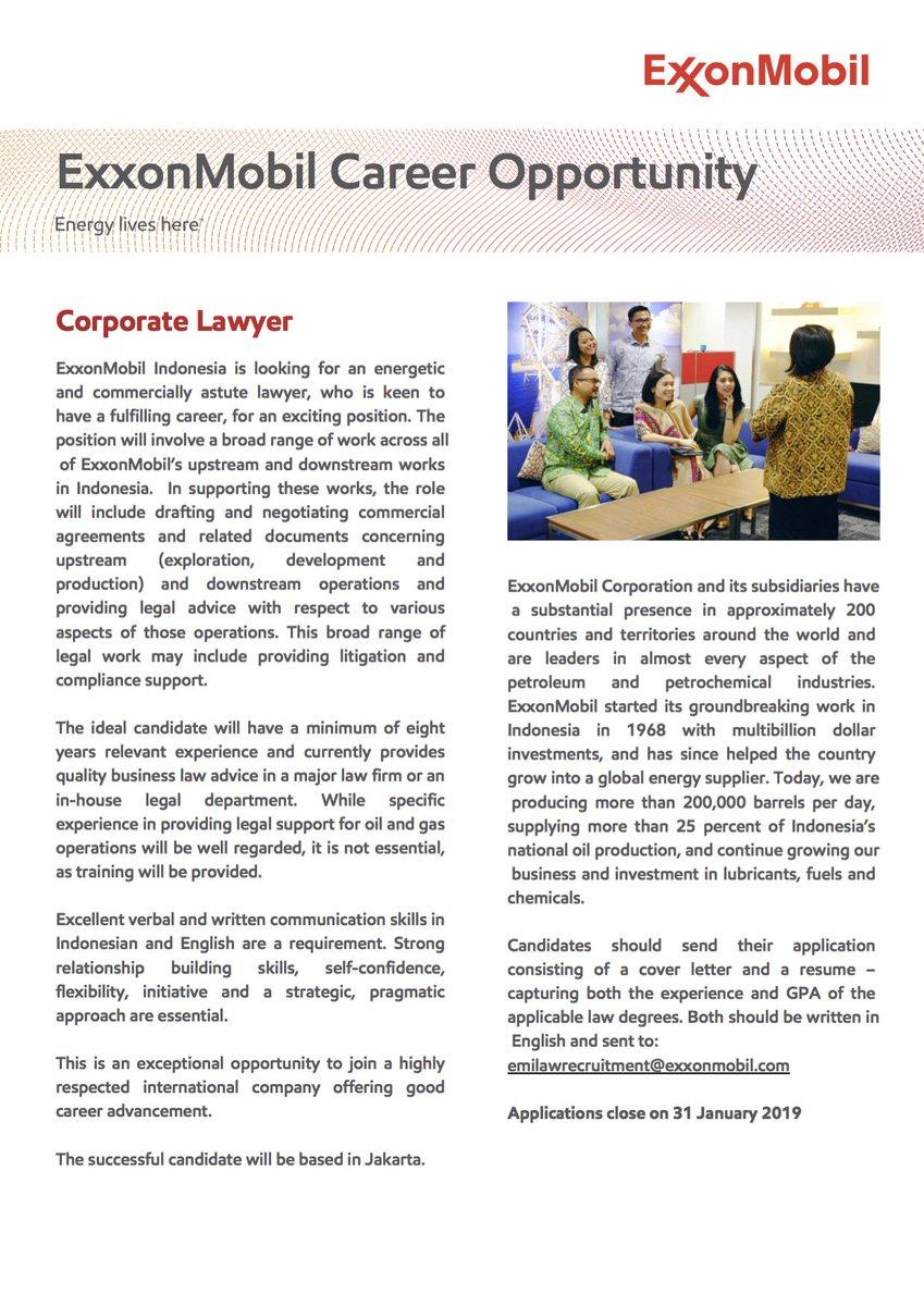 Holland Alumni Indo On Twitter Vacancy Corporate Lawyer
