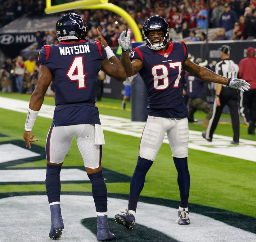 The @HoustonTexans are the first team in NFL history to win 8 straight games immediately following an 0-3 start (via @EliasSports)