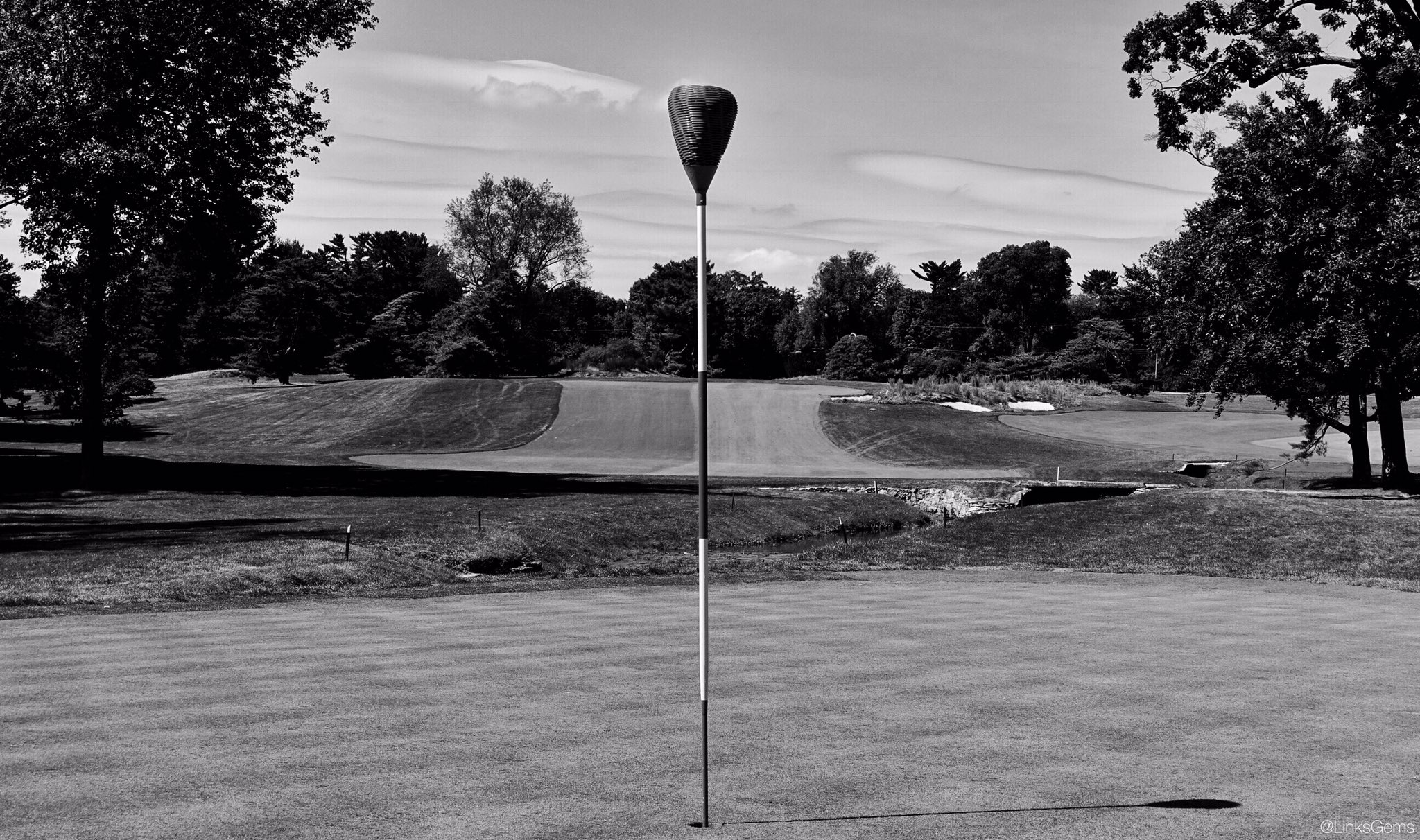 Linksgems Golf Photos Sur Twitter Tonight S Black And White Merion Golf Club Due To It S Long History Of Championship Play Merion Has Been Well Documented In Photos Over The Years Including