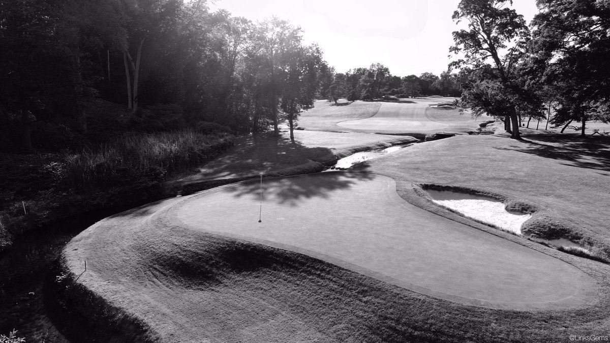 Linksgems Golf Photos On Twitter Tonight S Black And White Merion Golf Club Due To It S Long History Of Championship Play Merion Has Been Well Documented In Photos Over The Years Including Hy
