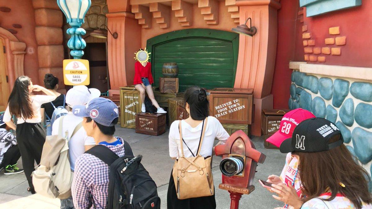 ディズニーランでインスタ映えのために・・・子どもの遊ぶ所が一つ撤去!悲しいですね・・・