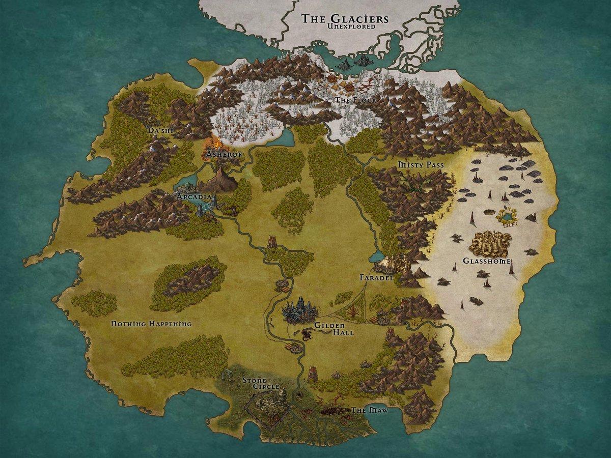 Inkarnate World Map.Inkarnate Hashtag On Twitter