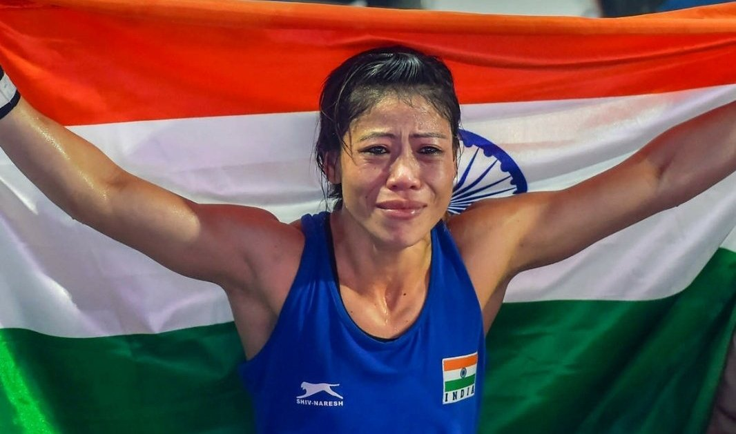 Mary Kom named best boxer of World Championship