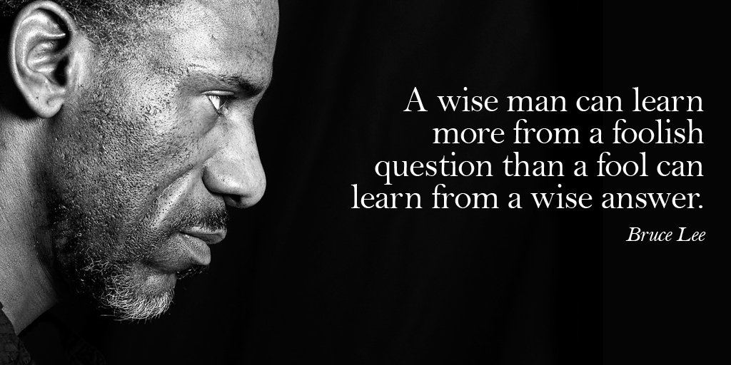 Kelly Howell On Twitter A Wise Man Can Learn More From A Foolish