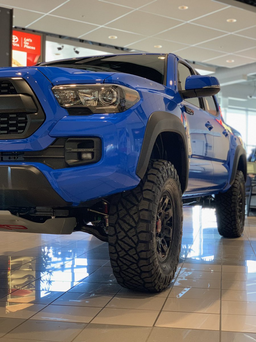 Brent Brown Toyota On Twitter All We Can Say Is Voodoo Blue Toyota Tacoma Trd Trdpro Brentbrowntoyota