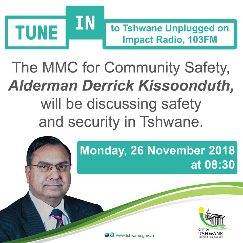 Don't forget to tune in to #TshwaneUnplugged tomorrow morning on @impact103 https://t.co/WghoDtwFVQ
