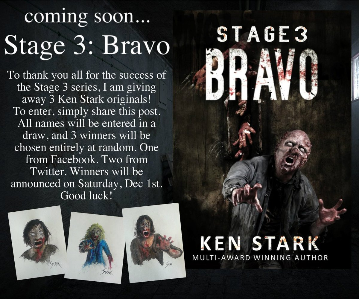 Ken Stark On Twitter To Celebrate The Release Of Stage 3