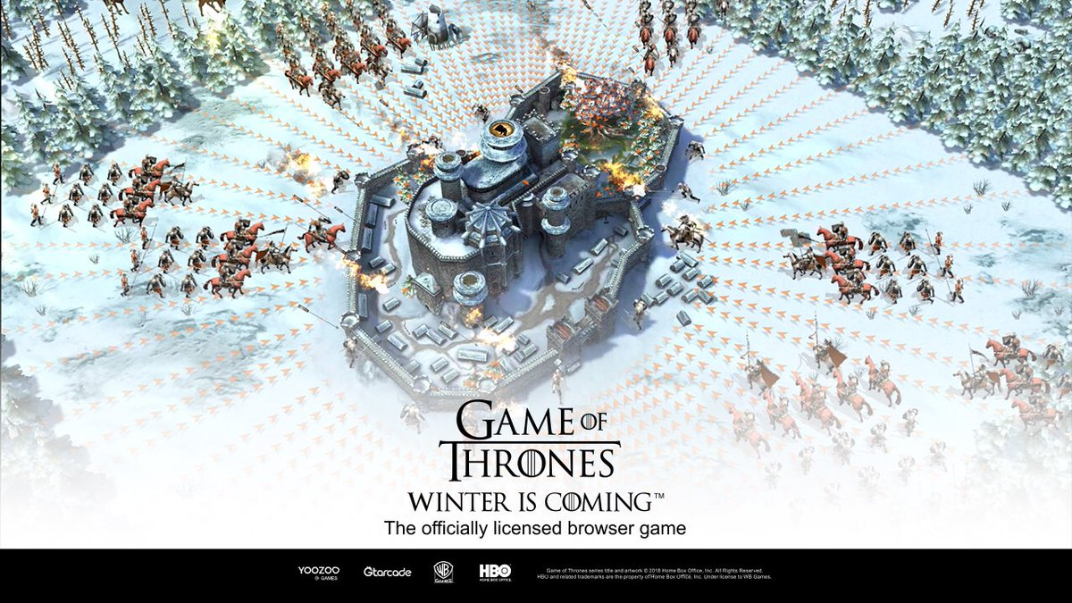 Game Of Thrones Winter Is Coming On Twitter Conquer Westeros On A