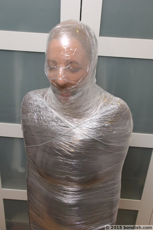 Both Pantyhose encased in encasement
