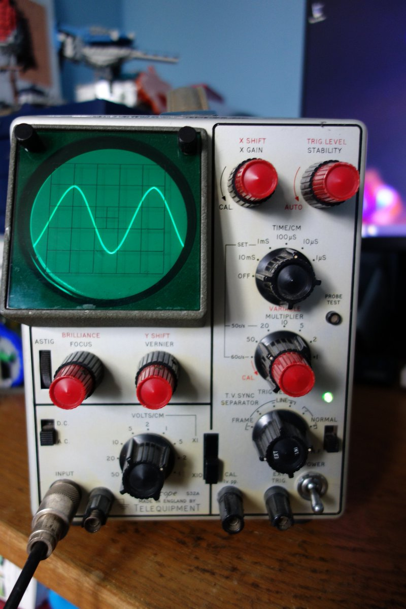 Thomas Stratford On Twitter My Treasure Is This Lovely Oscilloscope Control Pannel A Neighbour Gave It To Me Many Years Ago As He Knew I Was Interested In Electronics