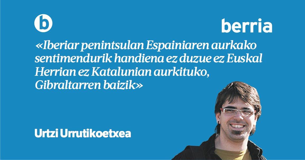 'Gibraltar, berriz ere' @urtziurruti  #lekulekutan https://www.berria.eus/paperekoa/1961/025/001/2018-11-25/gibraltar_berriz_ere.htm…