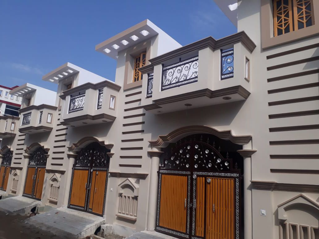 Single floor house in lucknow