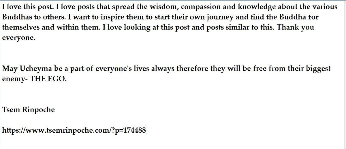 Tsem Tulku Rinpoche on Twitter: