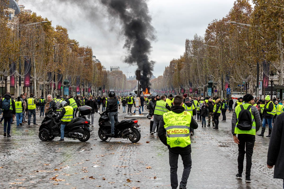 bbc france fuel unrest - HD 1200×800
