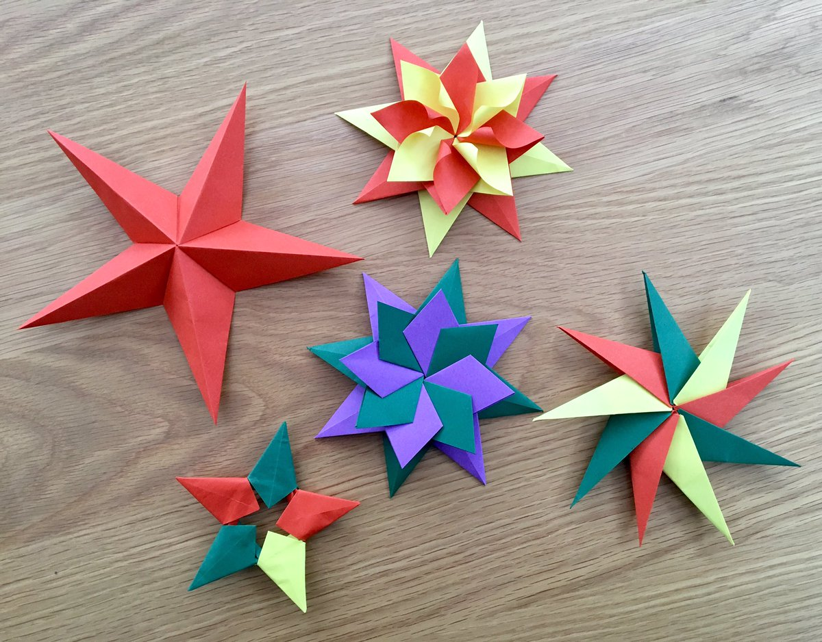 Easy Origami Modular 5-Pointed Star Folding Instructions | 938x1200