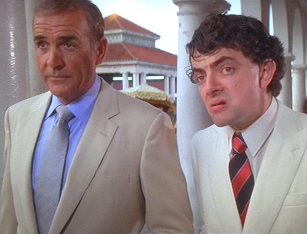 Karl Stefan Roser On Twitter When James Bond Met Johnny English Jamesbond Johnnyenglish Seanconnery Rowanatkinson