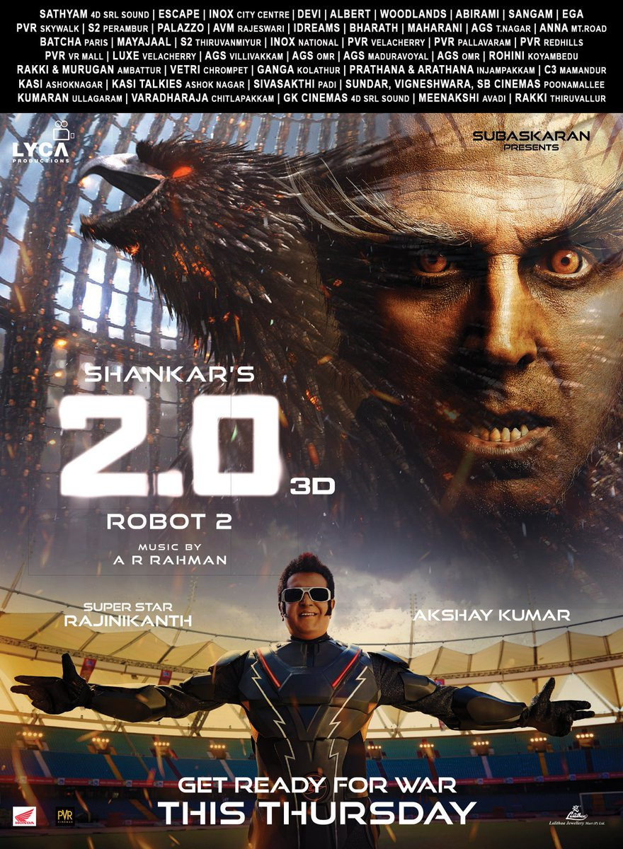 #2PointO INSIDE REPORT - The Movie is an Assured Blockbuster