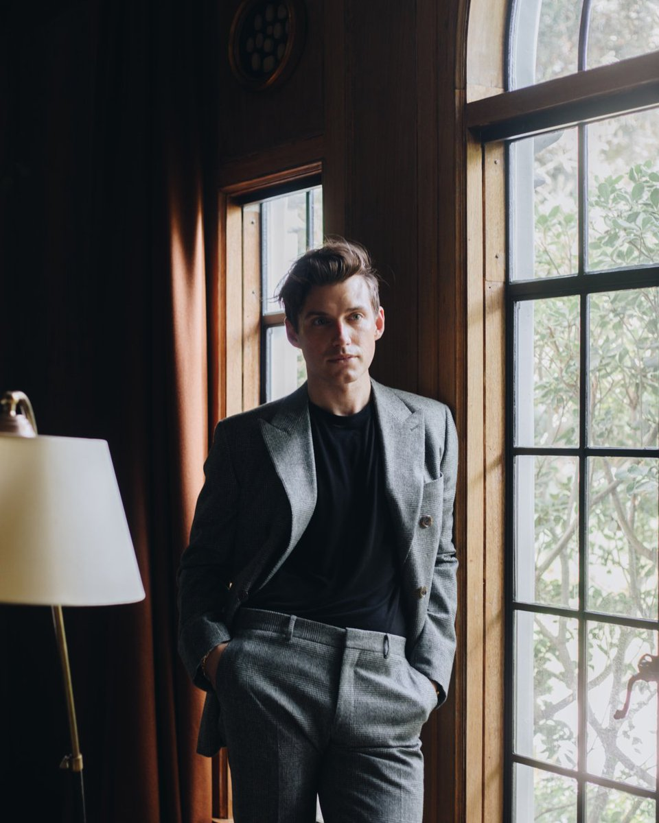 After hours. #JBDailyDress (Wearing: Suit/Jacket by @HERMES and shirt by Rick Owens)
