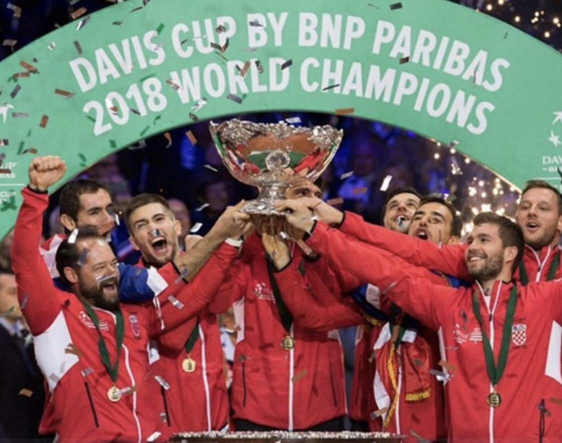 World champions 🏆🥇 #DavisCup #Champions #grandslam #itf #tennis #tennisplayers #croatia #WorldChampions https://t.co/g0Da4TAttc