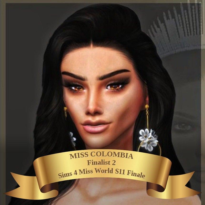 Sims 4 Miss World on Twitter: