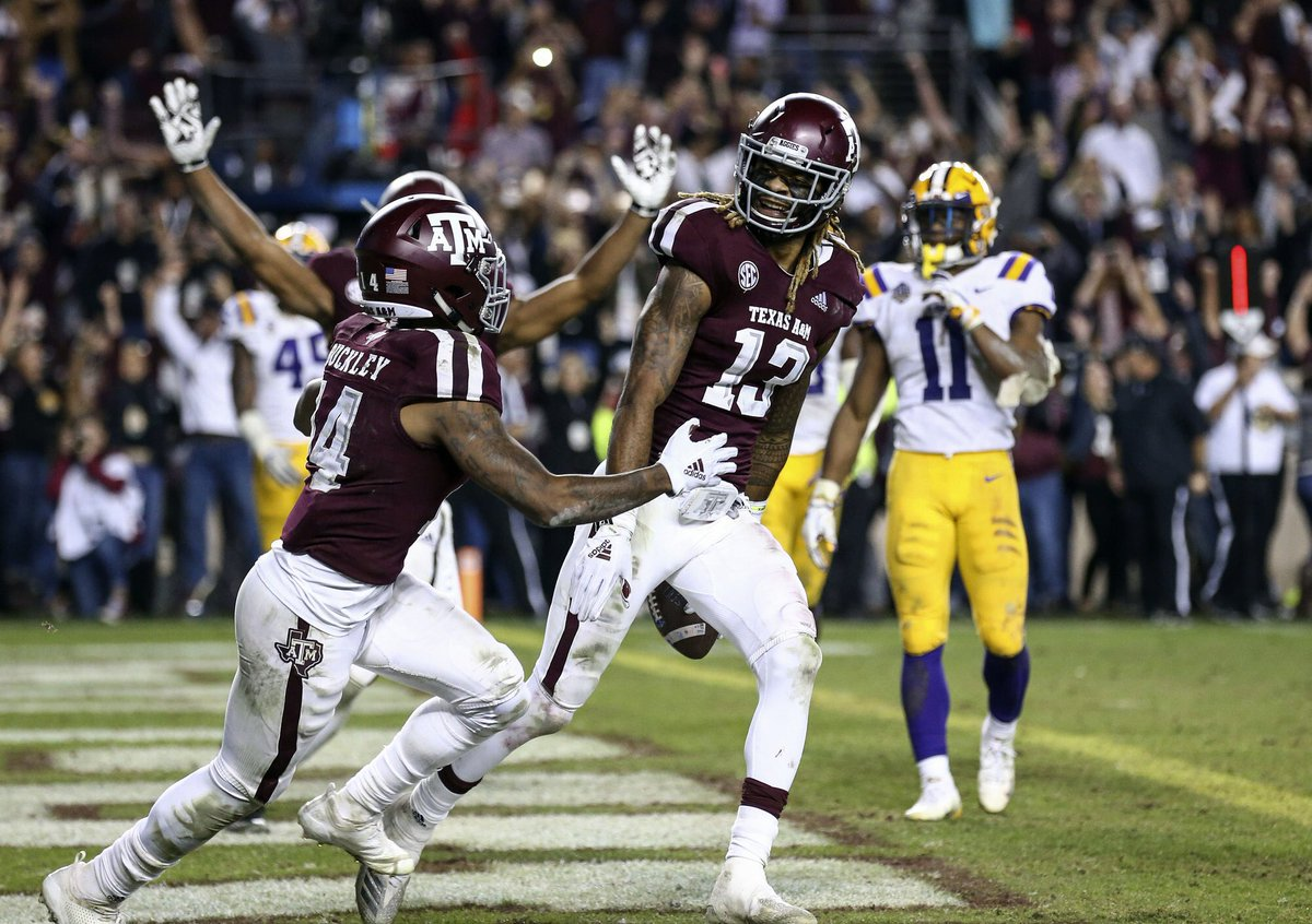 Ncaa On Twitter Texas A M Topped Lsu 74 72 After Seven Ots In The