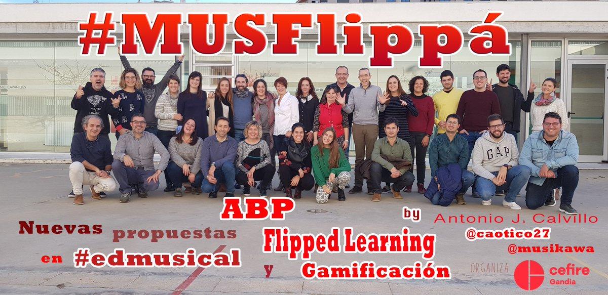 #MusFlippá - Curso sobre Nuevas propuestas metodológicas en #edmusical en el #CEFIREGandía | Musikawa http://www.musikawa.es/musflippa-curso-sobre-nuevas-propuestas-metodologicas-en-edmusical-en-el-cefiregandia-musikawa/… vía @musikawa @minervaden @danividalr_ @trencacalces @GVA_Cefire @GVAeducacio @ManelaFaus @musiescola @bego_bonet @MUSICteu @evaml55