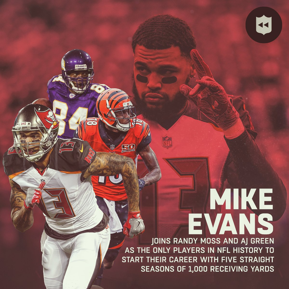 finest selection 650d2 7ecae NFL Throwback on Twitter:
