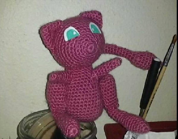 1Up Crochet - Mew now has a Shiny buddy! And the pattern... | Facebook | 468x600