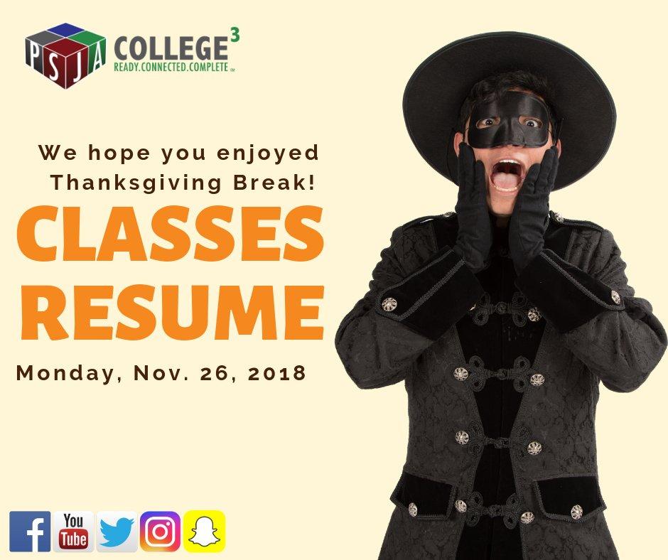 Psjaisd On Twitter We Hope You Enjoyed Thanksgiving Break Classes