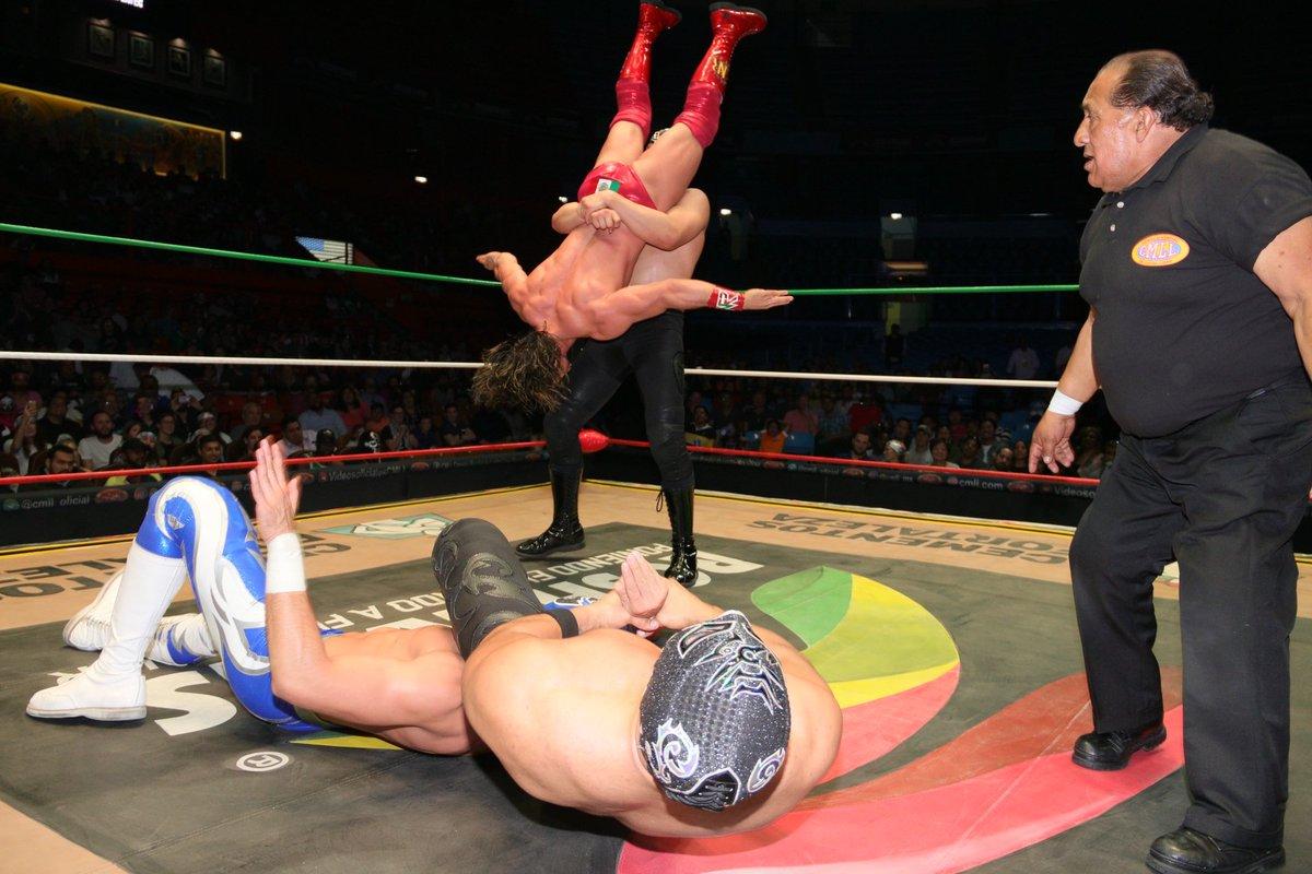 CMLL: Una mirada semanal al CMLL (Del 22 al 26 de noviembre de 2018) 10