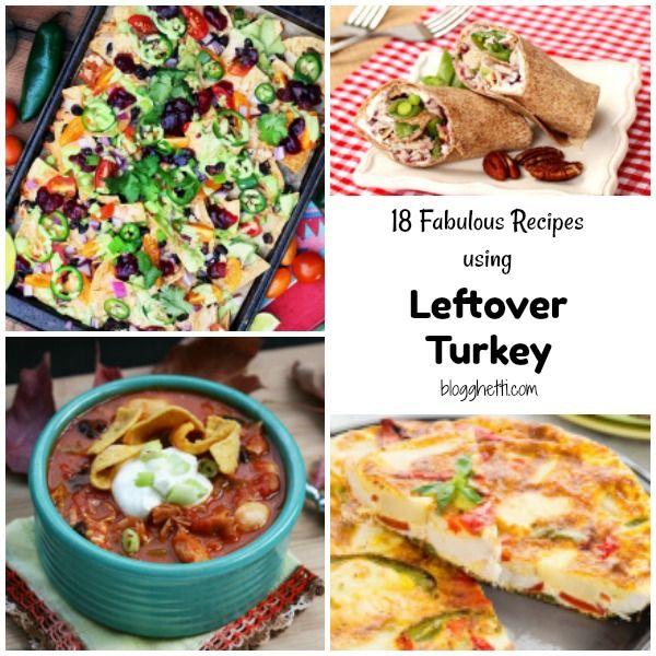 18 Fantastic Leftover Turkey Recipes https://t.co/sL5nMGt9fS via @Blogghetti https://t.co/YhRKqAFBpC