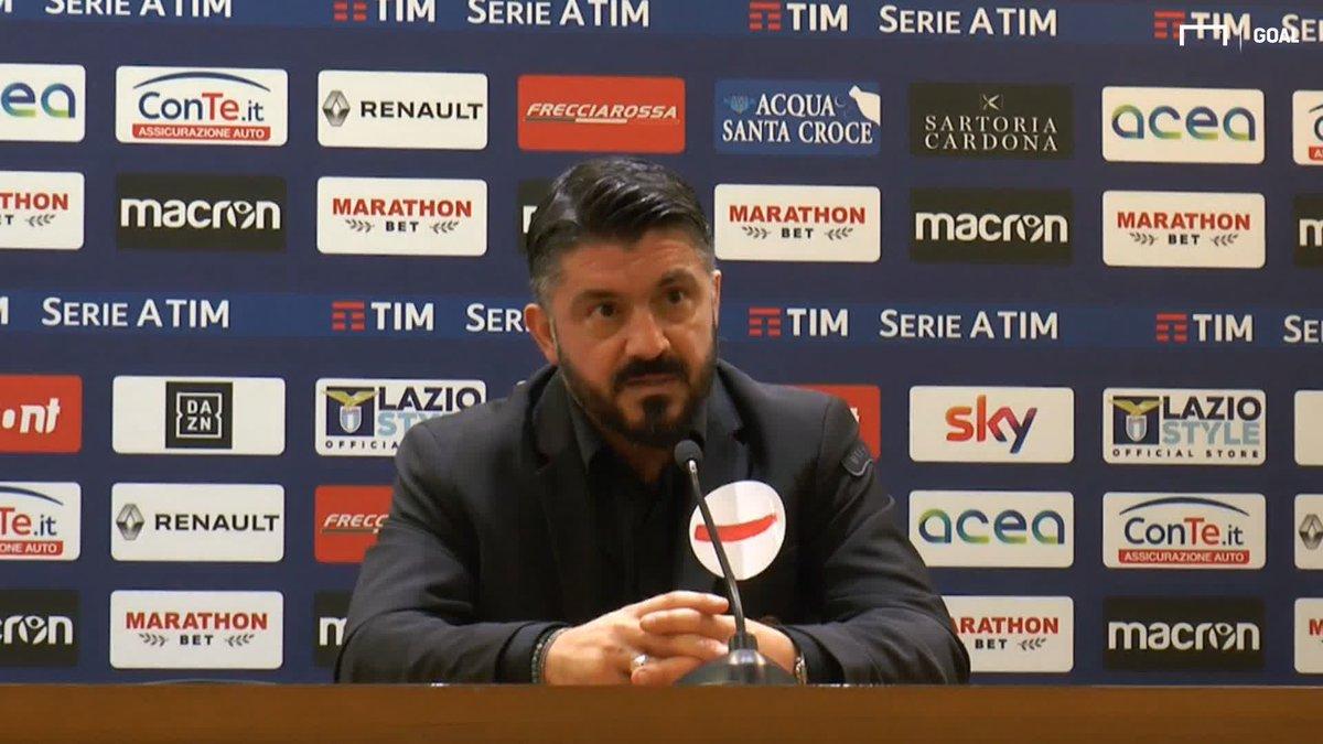 """#Gattuso su #Salvini: """"Se ha tempo per pensare al calcio vuol dire che siamo messi male"""""""