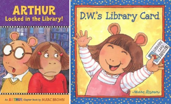Having fun isn t hard when you ve got a library card. Happy Birthday, Marc Brown!