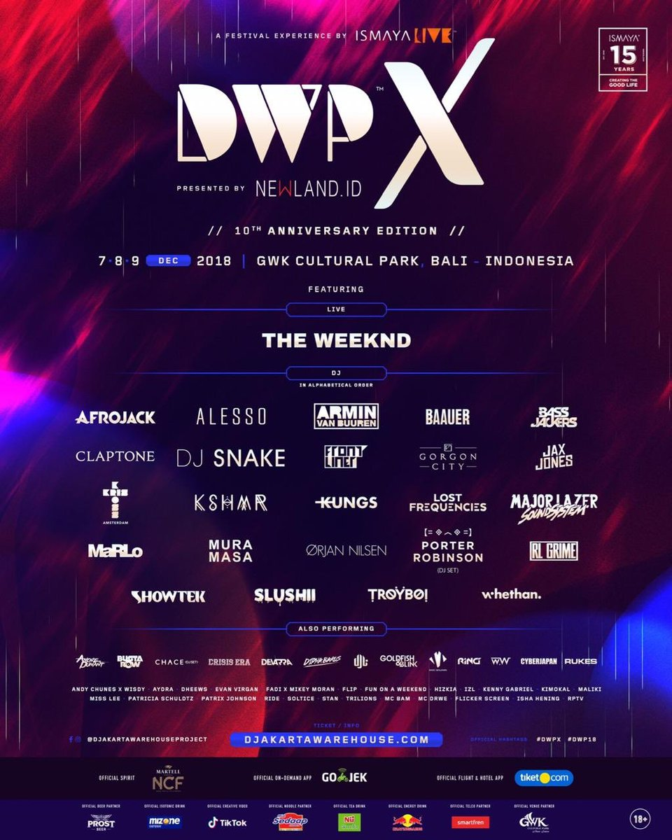 Djakarta Warehouse Project On Twitter Phase 3 Of Dwpx Lineup Announced Get Ready To Celebrate And Treasure Good Times With Fellow Music Fans From All Over The World As We Are Set