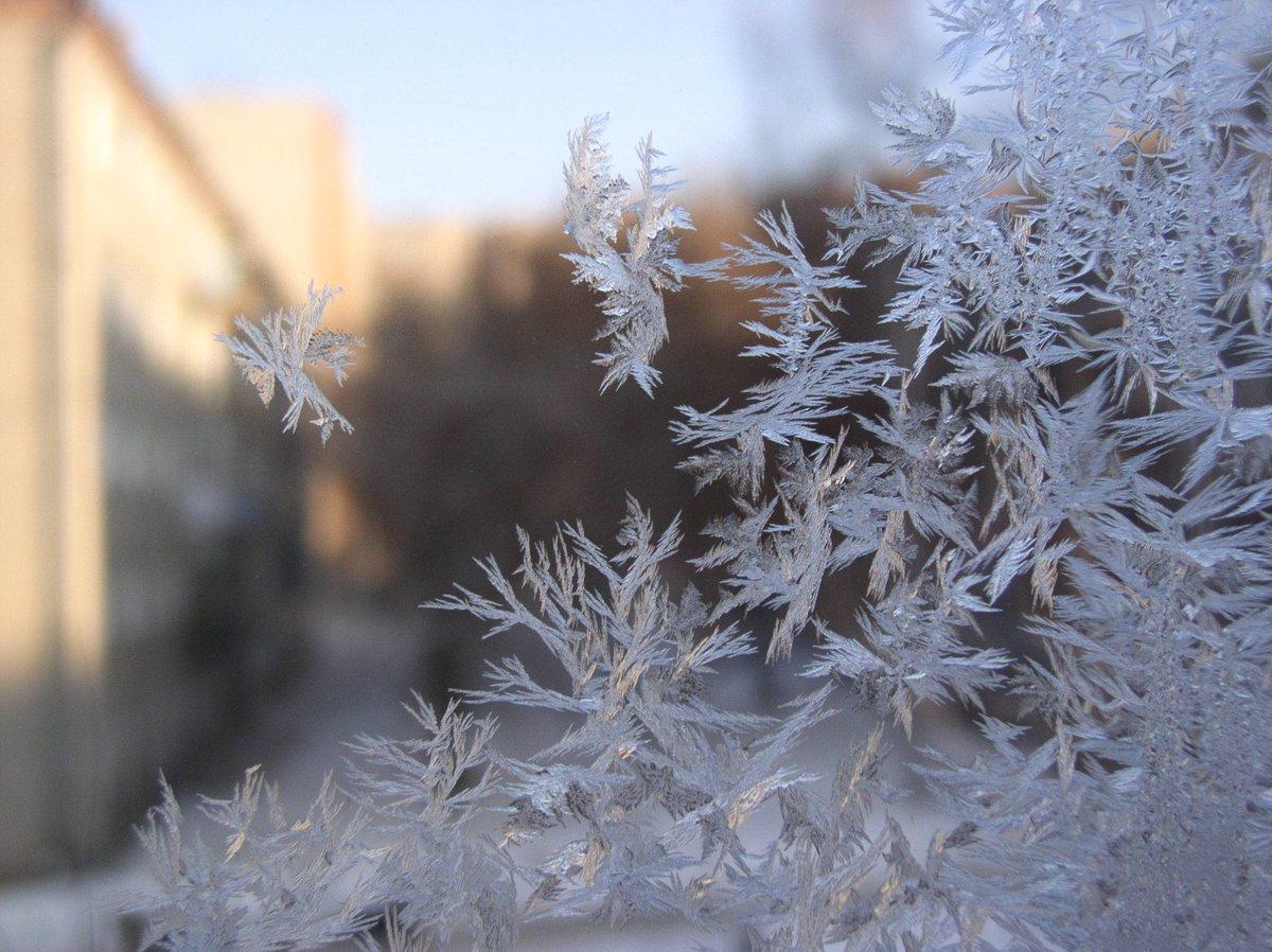 Снег и мороз картинка