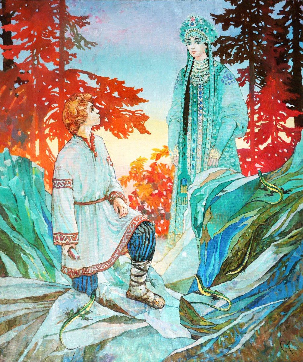 Хозяйка медной горы картинки из сказки