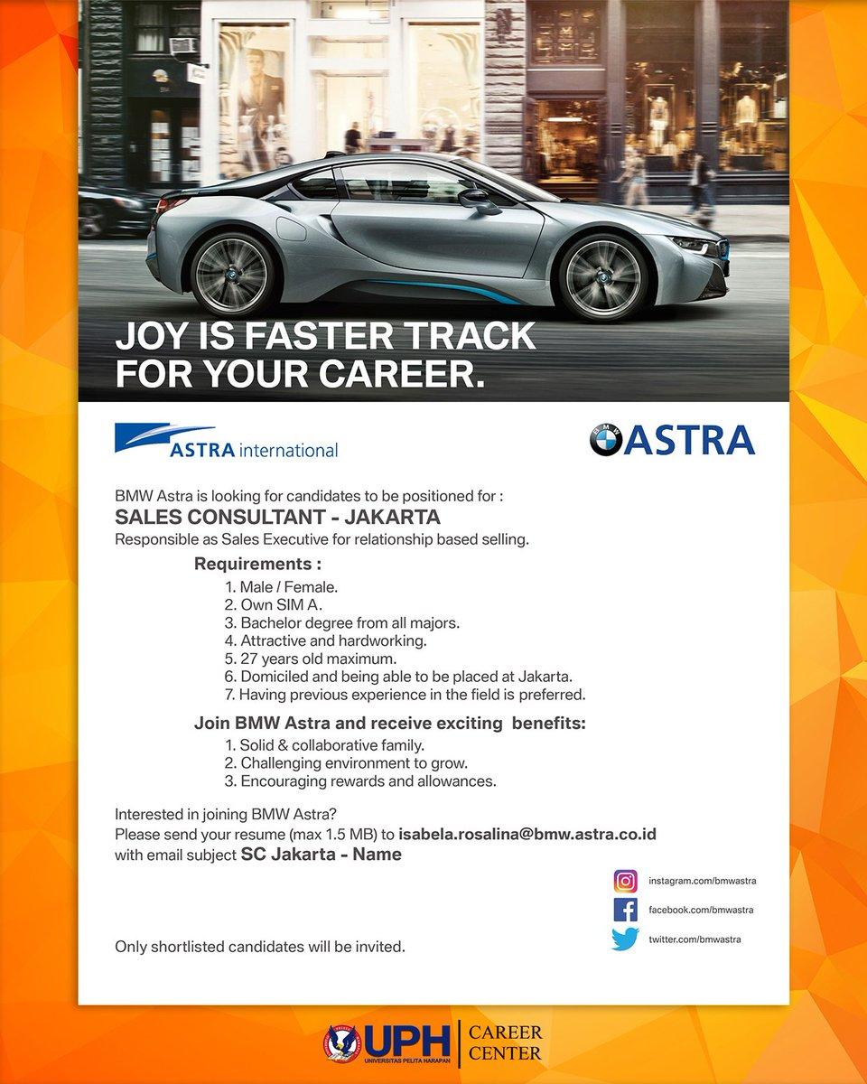 "uph career center on twitter: ""job vacancy | pt astra international"