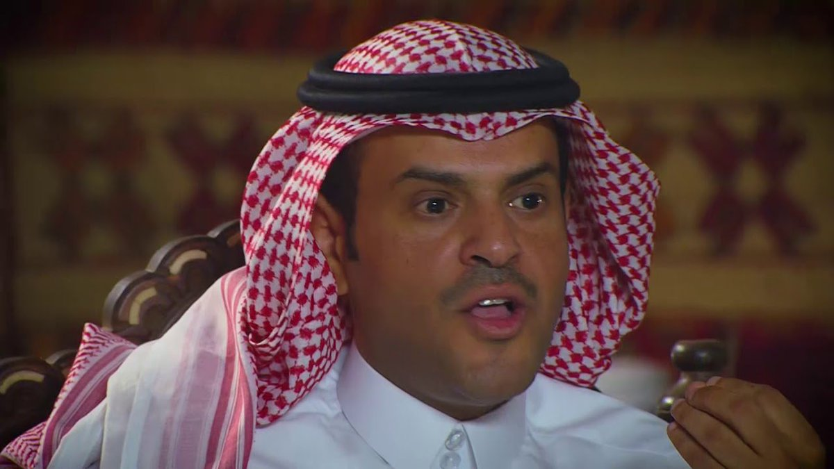 محمد بن جخير وش جنسيته